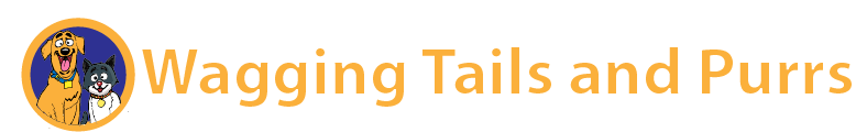 Wagging Tails and Purrs Logo